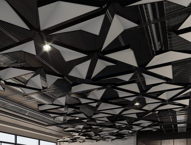 Metal asma tavan sistemi
